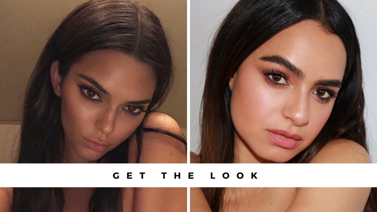 Get The Look Kendall Jenner Bronzed Makeup Youtube