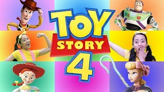 Toy Story 4 GIANT SMASH Game - Woody and Buzz, Mr. Potato Head