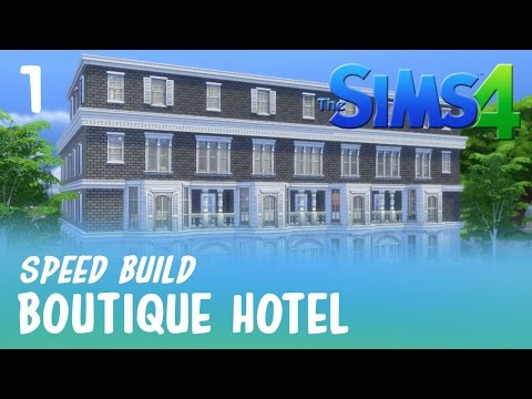 The Sims 4 Build | Boutique Hotel (Part 1)