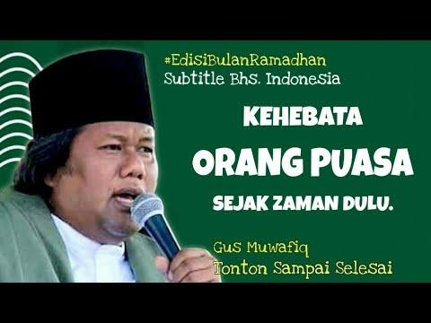 Gus Muwafiq Kehebatan Orang Puasa Sejak Dulu Subtitle