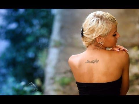 Завораживающие татуировки на спине