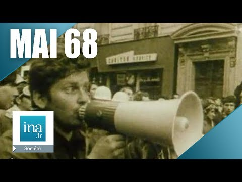 Mai 68 chronologie des événements   Archive INA INA