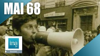 1er mai 68 chronologie des événements - archive vidéo INA