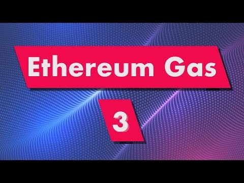 Ethereum Gas: Ether Units (Wei, Gwei....)