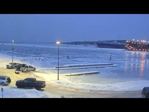 Two Harbors Ice Fishing 02/02/19