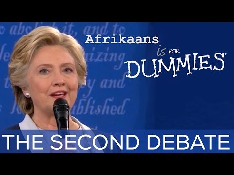 Second US Presidential Debate - In Afrikaans Accents