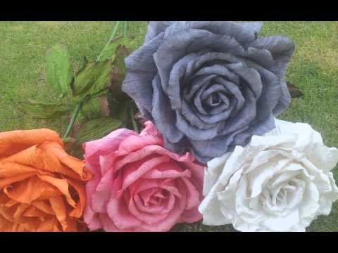 Mulberry paper flower thai saa paper flower flower for scrapbook