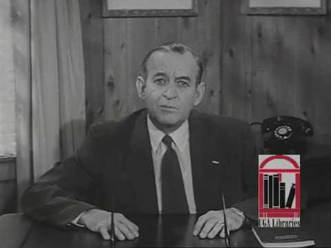 M.E. Thompson, 1954 Georgia Gubernatorial Campaign Ad, Schools