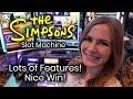 The Simpsons Slot Machine MAX BET!!⭐️ Bonuses ⭐️ Nice Win!!! Krusty the Clown Feature!!! 🤡