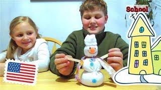 Зимние каникулы! Последний учебный День/ Как его провели дети в школе/ АМЕРИКАНСКАЯ школа