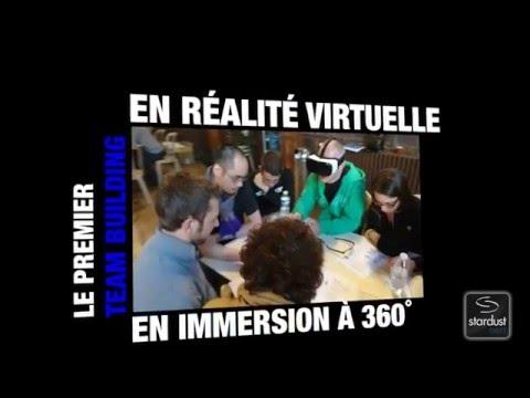 1er Team building Réalité Virtuelle - Équipe déminage d'engin explosifs