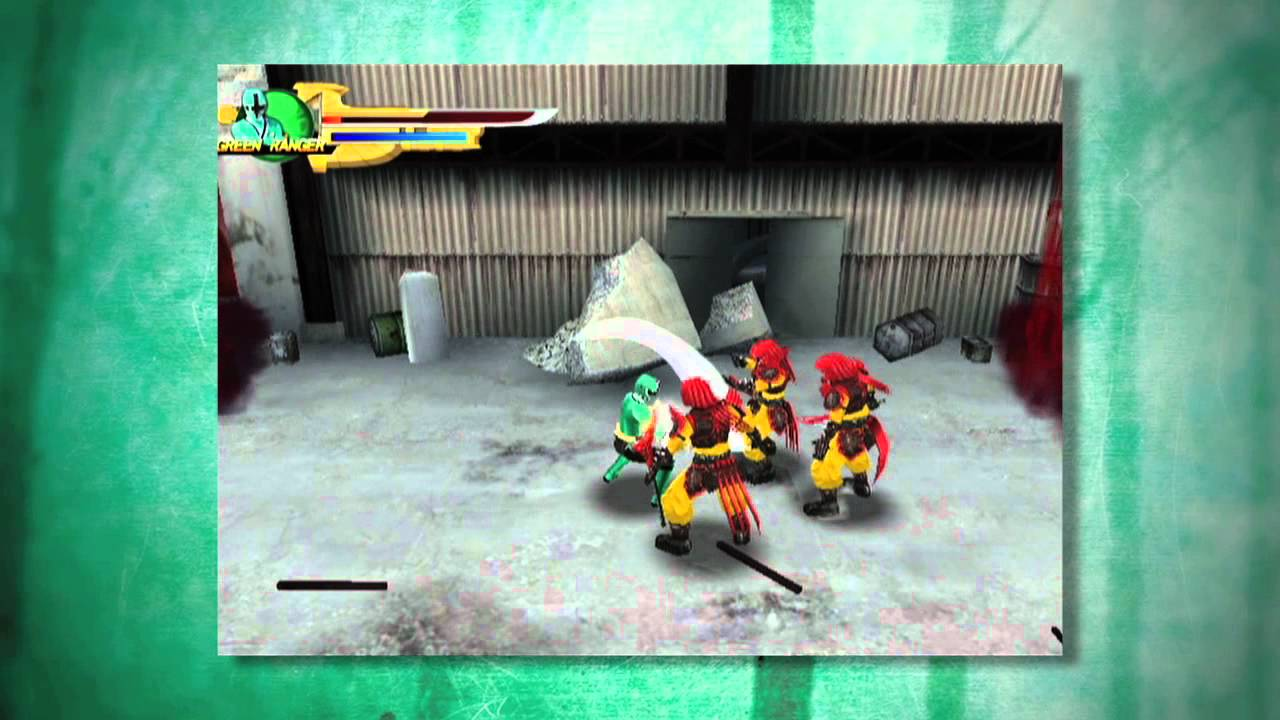 power rangers samurai wii ds become a samurai rangers youtube