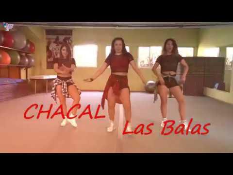 CHACAL-Las Balas -Coreografía Zumba Fitness