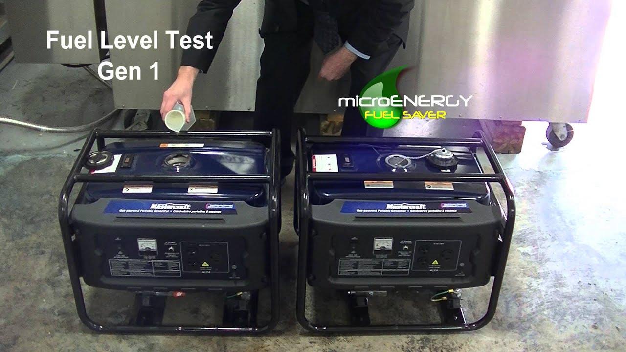 Micro Energy Fuel Saver 1hr Generator Test