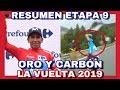 RESUMEN ETAPA 9 ► LA VUELTA A ESPAÑA 2019 🇪🇸 NAIRO QUINTANA Se Viste De Rojo