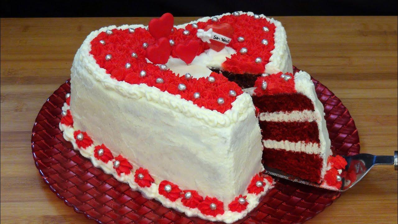 Receta Tarta San Valentín - Recetas de cocina, paso a paso, tutorial. Loli Domínguez