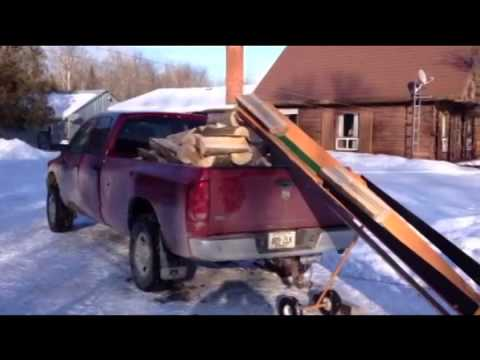 How to Fill a Pick Up Truck with Wood