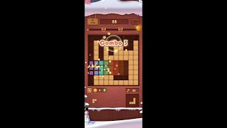 Wood Block Puzzle (by Beetles Games Studio) - puzzle game for Android and iOS - gameplay. screenshot 4