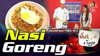 Nasi goreng Recipe  Indian Asian Fried Rice  What A Taste  Vanitha TV