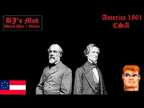 America 1861 (CSA) - BJ's Mod WWI Edition