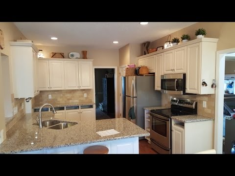 Creme Caramel Granite Countertops 4 18 16 Youtube