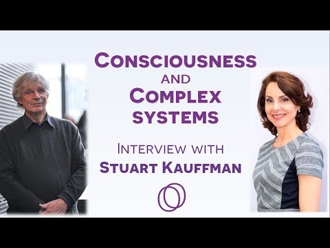 Stuart Kauffman on consciousness and complex systems - interview with Nanci Trivellato