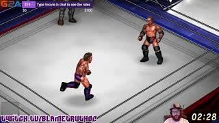 Orton DIES (Fire Pro Wrestling World)