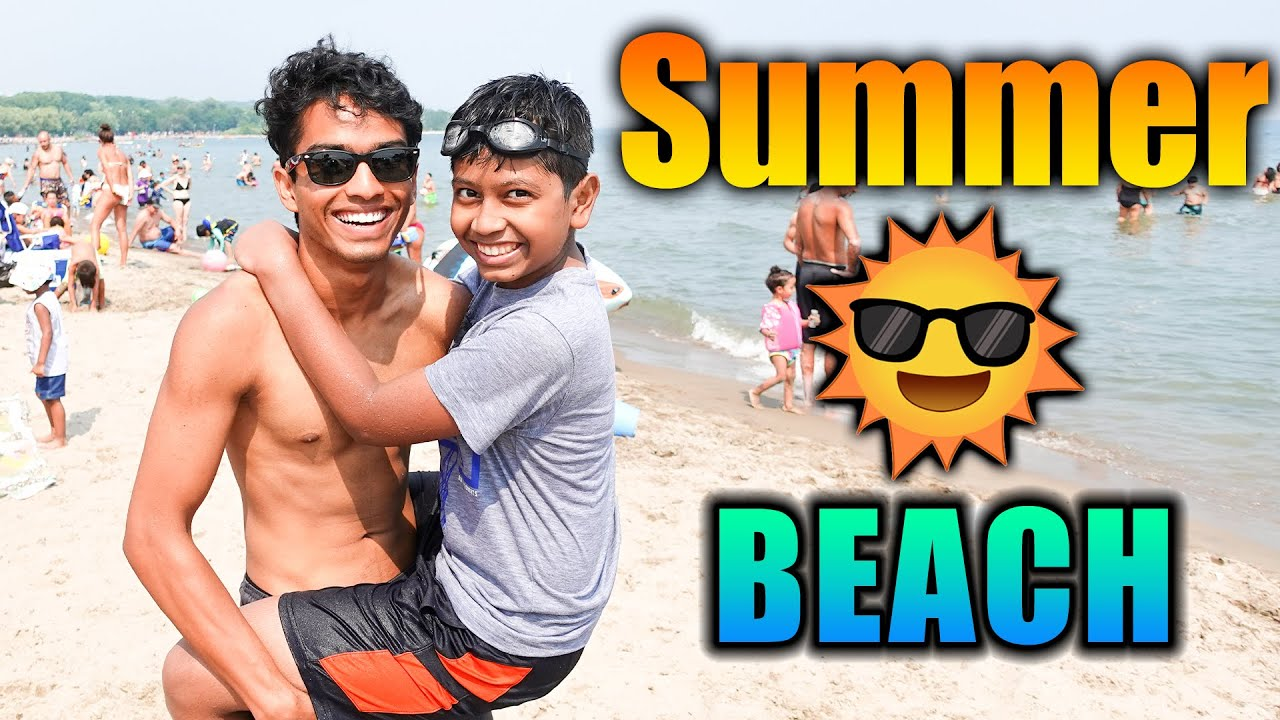 CANADA SUMMER BEACH VLOG 🏖️☀️ | IT WAS AWESOMEEE! | VelBros Tamil