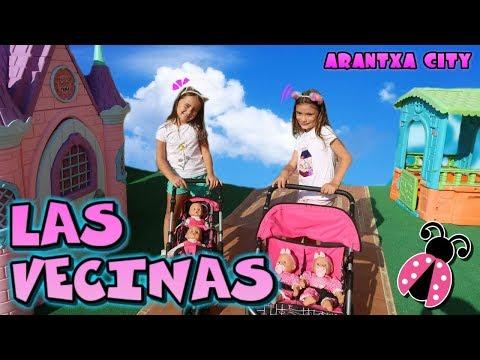 Las Vecinas Paseo por mi ciudad con nuestros bebés  🏡🌞 ARANTXA CITY