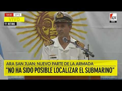 Suspendieron el rescate de sobrevivientes del ARA San Juan