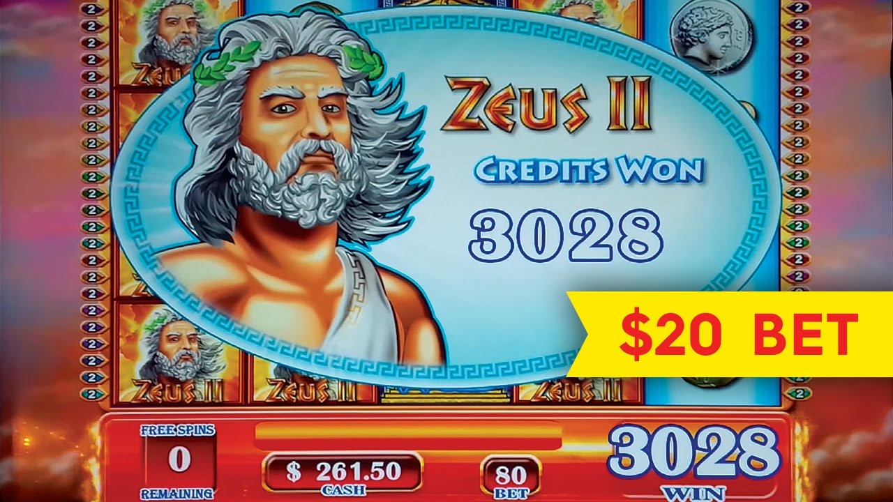 Zeus respin slot machine