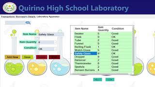 Laboratory Inventory Management System