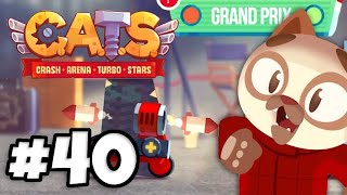 NEW Grand Prix Game Mode (BEST MANAGER!) | Crash Arena Turbo Stars Part 40 (C.A.T.S)