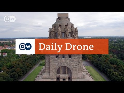 #DailyDrone: Monument to the Battle of the Nations