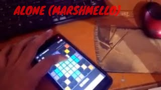 PLAYING MARSHMELLO - ALONE ON SUPER PADS LIGHTS - Launchpad - KIT FRENETIC for beginers