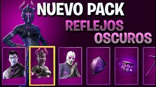 NEW PACK DARK REFLECTIONS in Fortnite: Battle Royale