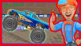Monster Truck Song - Educational videos for preschoolers - Blippi