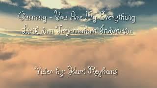 Gummy - You Are My Everything ( Lirik Dan Terjemahan Bahasa Indonesia)