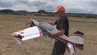 Maiden Flight, 20cc Yak 54 Profile Rc Plane
