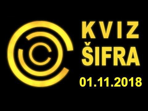 KVIZ ŠIFRA (01.11.2018)