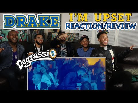 DRAKE - I'M UPSET OFFICIAL MUSIC VIDEO (DEGRASSI REUNION) REACTION/REVIEW