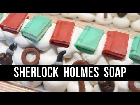 Sherlock Holmes - Inspired Soap   Sorcery Soap & Royalty Soaps