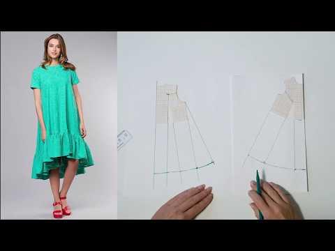 0 - Як зшити плаття-трапеція?