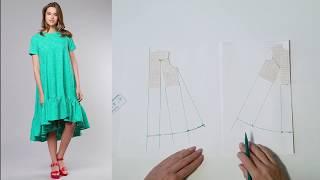 Платье трапеция  Моделирование(, 2018-05-11T06:57:32.000Z)