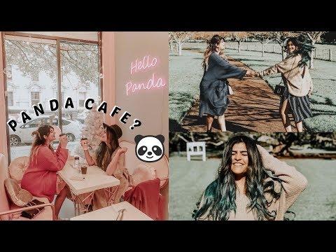 NEW ZEALAND TRIP || PANDA CAFE?