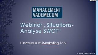 Webinar SWOT
