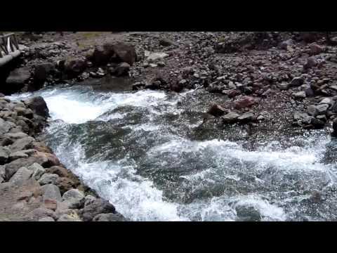 Heaven Lake Waterfall