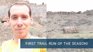 Trail Running North Table Mountain: Trail Vlog