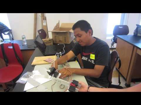 Luis's Robotic Arm Milestone 3