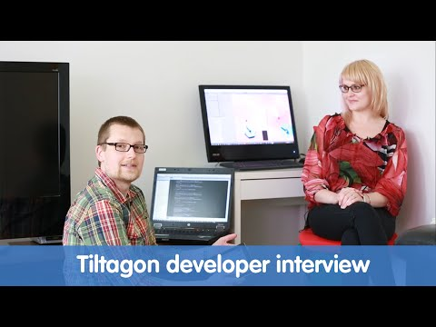 Tiltagon developer interview for Kauppalehti, a Finnish business newspaper